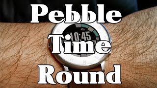 Pebble Time Round Review and Measurements