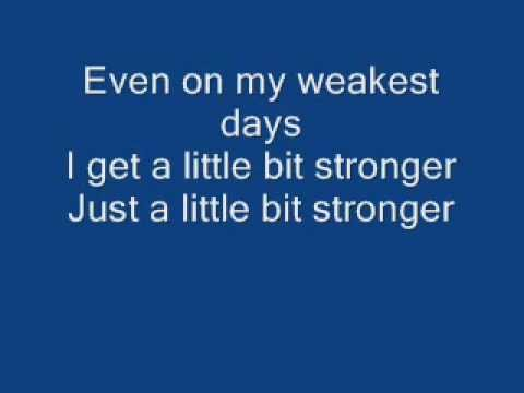 Leighton Meester - A Little Bit Stronger - Lyrics HQ