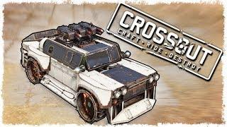 Боевой Жигуль В Crossout!!!