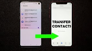 How to Transfer Contacts from Android to iPhone (Fast and Easy)