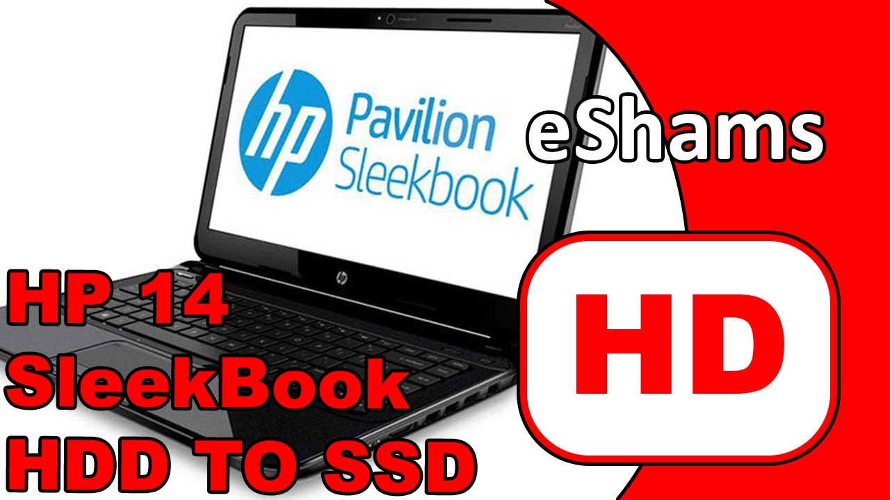 HP Pavilion 14 r002 HDD SSD Replacement by eShamsTechTips
