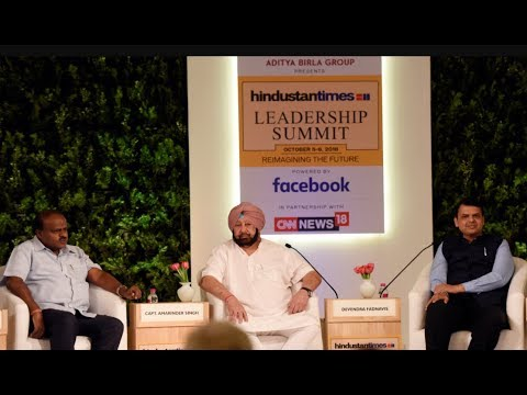 Watch: CMs of Maharashtra, Punjab, K'taka discuss the road ahead at HTLS 2018