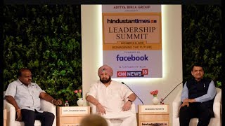 Watch: CMs of Maharashtra, Punjab, K'taka discuss the road ahead at HTLS 2018