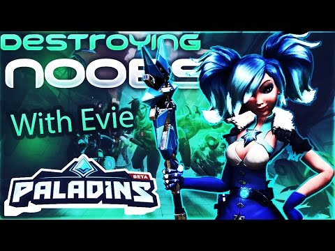 Evie Is Overpowered,sexy,and is BAE - Paladins (PC)