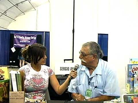 Sergio Aragones talks about Groo the Wanderer movie on The Lizard Zone