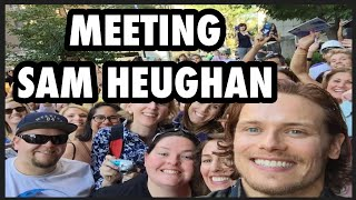 Meeting Sam Heughan - OUTLANDER