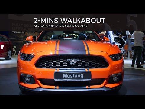 2MINS Walkthrough - SINGAPORE MOTORSHOW 2017
