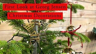 GEORG JENSEN Christmas Decorations 2020 | Take a closer look | Scandinavian Christmas