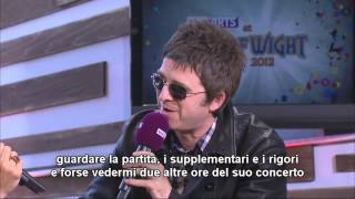 Repeat youtube video (sottot.) Noel Gallagher on Bruce Springsteen and ITA vs. ENG @ Isle of Wight Festival