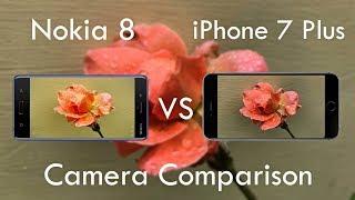 Nokia 8 Vs iPhone 7 Plus Camera