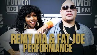 "Remy Ma Covers Big Pun's Verse on ""Twinz"" With Fat Joe"
