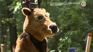 F**king sur hjort - 'Helt i Skoven' nyt program på TV3