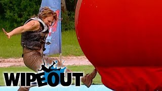 Wipeout Hilarious Funny Moments