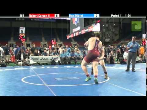 285 Robert Carson II vs. Dan Stibral