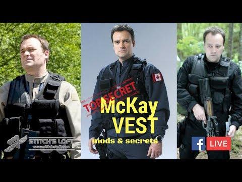 Stargate Atlantis McKay Tac Vest Mods & Secrets (FB LIVE) by Stitch's Loft