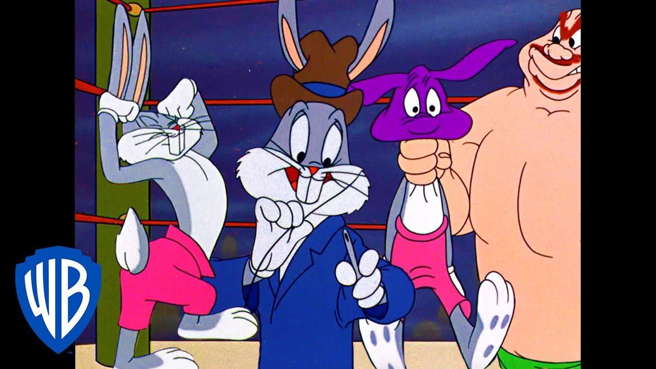 Looney Tunes | Bunny Boxing | Classic Cartoon | WB Kids