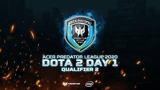 APAC Predator League 2020 Indonesia - Qualifier Two Day One (DOTA 2)
