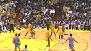 NJ Nets @ Lakers, 1991