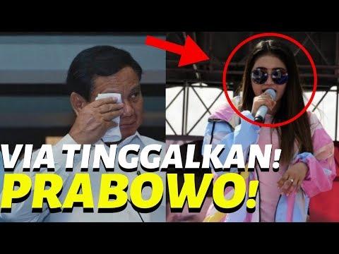 BIKIN SYOCK! Merasa Pu4s Dengan Jokowi, Via Vallen Tingg4lkan Prabowo