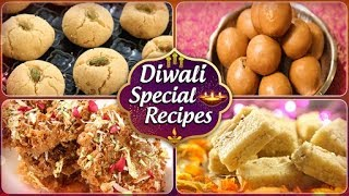 Diwali Special Sweet Recipes - Traditional Festive Sweets & Desserts - Quick & Easy Indian Sweets