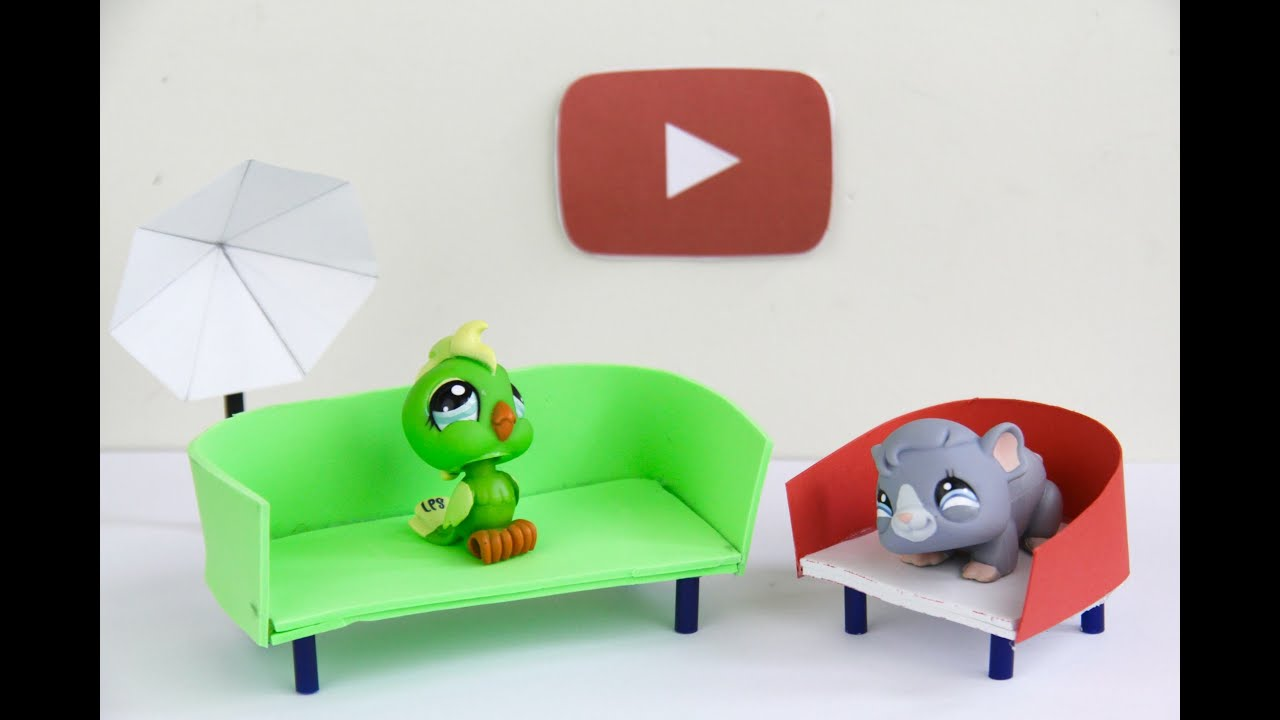 Diy Lps Couches Youtube