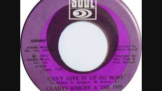 Watch Gladys Knight  The Pips Cant Give It Up No More video