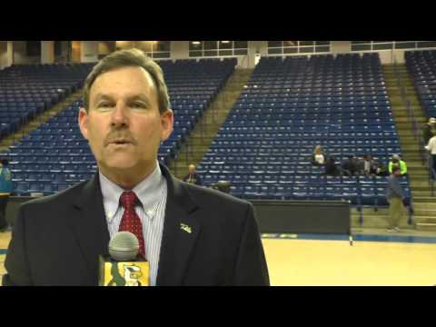 2015-16 W&M Men's Basketball Post Game at Delaware (1/28/16)
