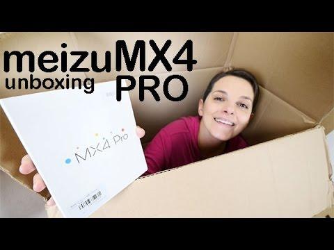 Meizu MX4 Pro preview unboxing en español