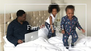Weekend Family Vlog| Still moving in|Vlog 1