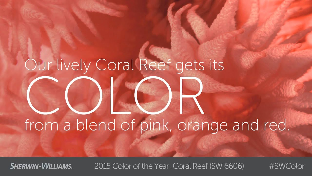2015 Color Of The Year Coral Reef Sherwin Williams