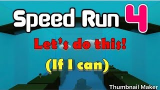 Playing Roblox again speed run 4