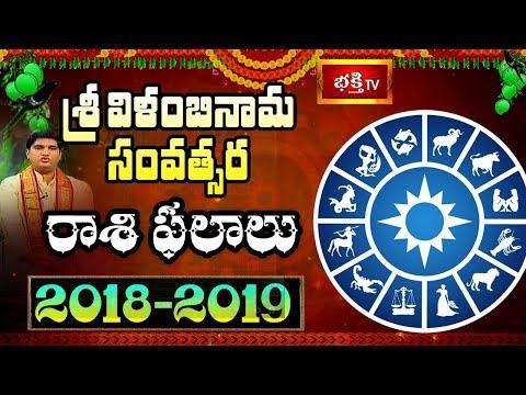 Vilambi Nama Samvatsaram 2018-2019 Telugu Rasi Phalalu || Sri Sankaramanchi Ramakrishna Sastry