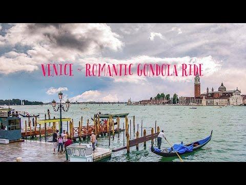 Romantic Gondola Ride in Venice 2017
