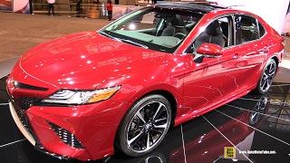 2018 Toyota Camry - Exterior and Interior Walkaround - 2017 Chicago Auto Show