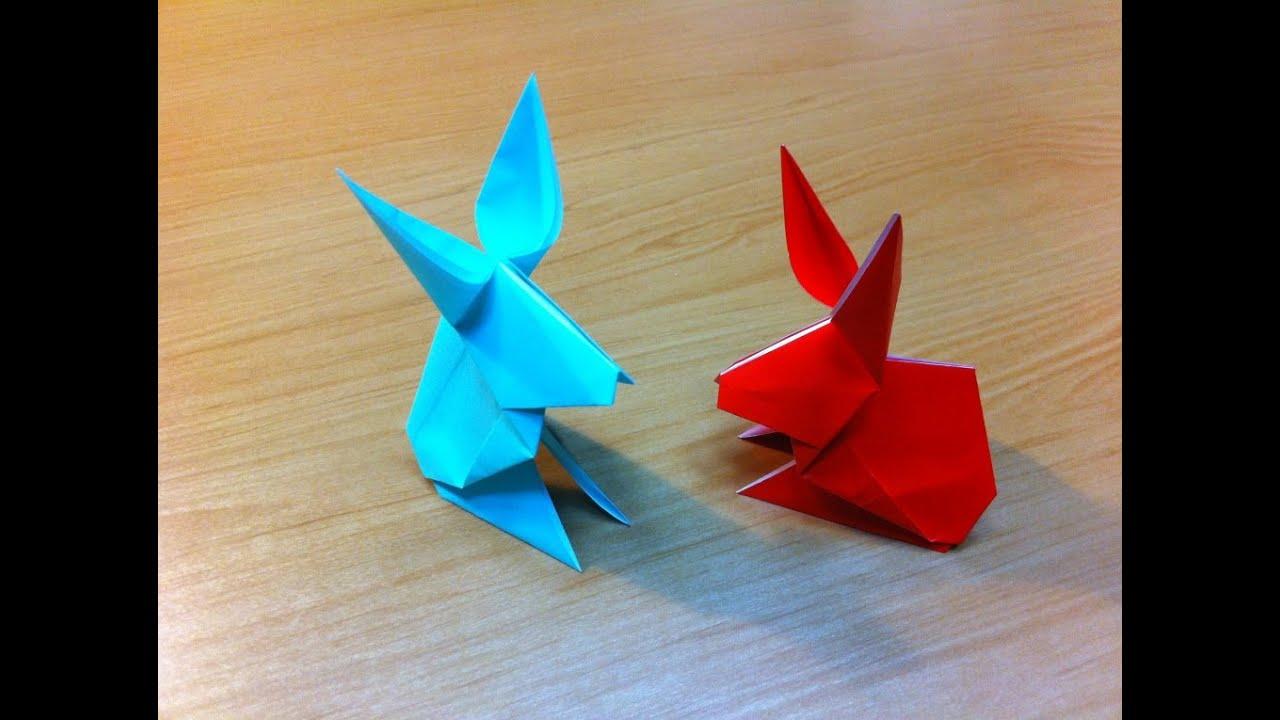 Origami Rabbit Instructions Youtube