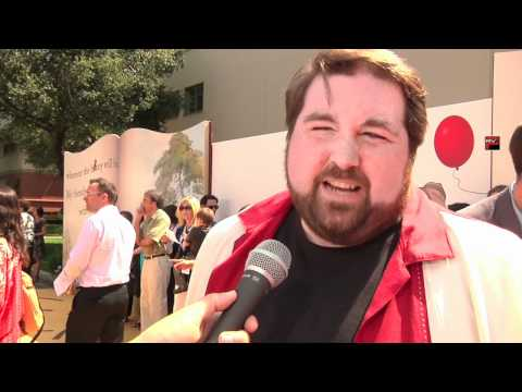 Travis Oates Voice of Piglet at Winnie The Pooh Premiere