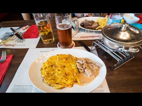 Swiss Food at Zeughauskeller - Most Legendary Restaurant in Zurich, Switzerland
