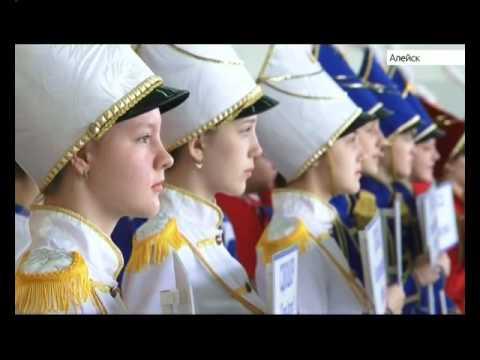 В новом спорткомплексе Алейска стартовало первенство Алтайского края по волейболу