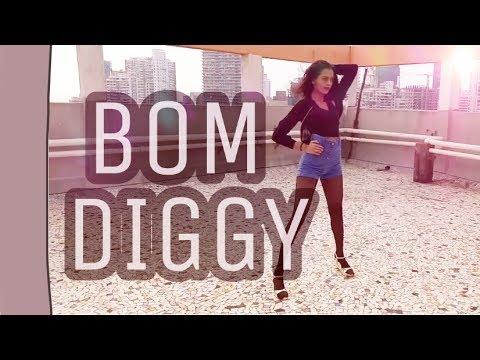 Bom Diggy Dance   Zack Knight x Jasmin Walia   By Dhruvi Shah