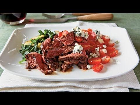 Grilled Balsamic Skirt Steak Recipe