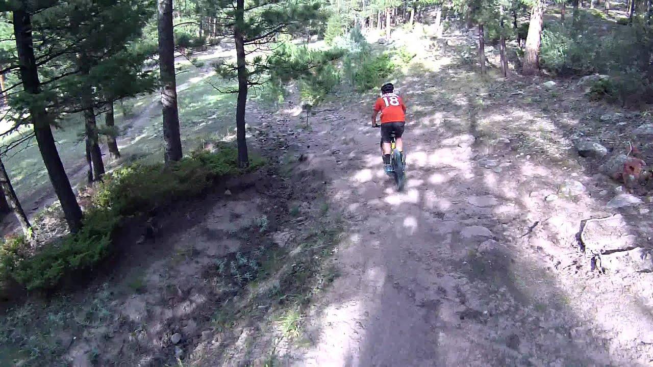 Mountain Biking Ymca Trails Estes Park Colorado Aug 26 2012 Youtube