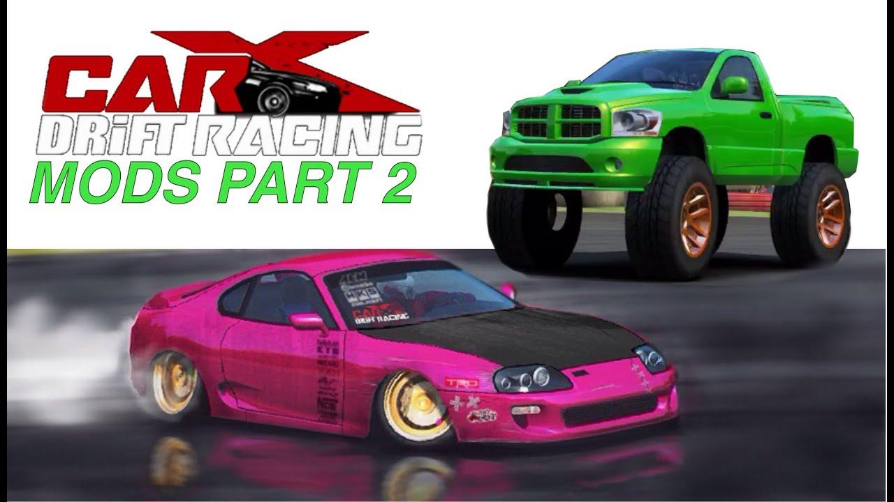 Carx Drift Racing Mods Part Slammed Supra Monster Ram Youtube