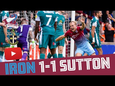 Scunthorpe Sutton Goals And Highlights
