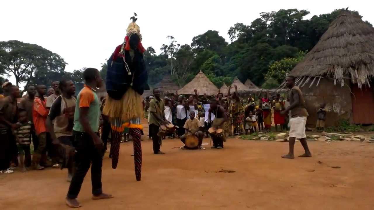 Stilt Dancer Village of Côte d'Ivoire (Ivory Coast), Part 2/4 ...