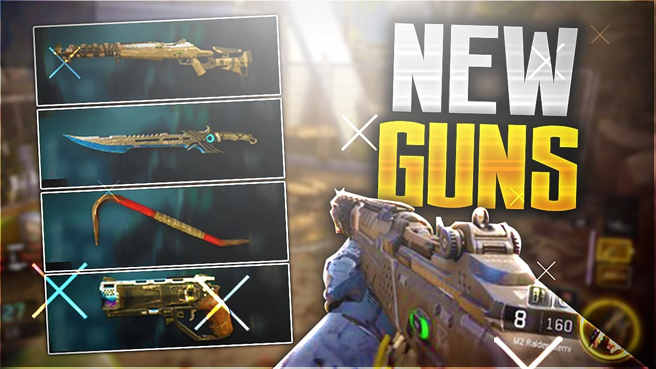 all new dlc weapons new weapons coming into black ops 3 cod bo3