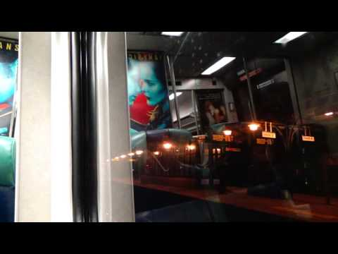 MTA Metro North Hudson Line NIGHT RIDE (Grand Central Termin