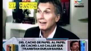 678 - Del cacho de papel, al papel de cacho, las calles que transitan Duran Barba y Macri 26-01-2011