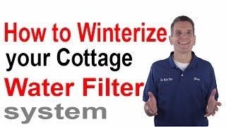 How to Winterize Your Cottage Water Filter System   Midland, Ontario(How to winterize your cottage water treatment system? Get a FREE REPORT on the 10 Biggest Mistakes made when purchasing water treatment equipment and ..., 2013-10-08T23:10:05.000Z)