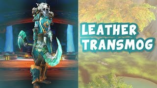 VIRIDIAN LEATHER TRANSMOG | World of Warcraft BFA