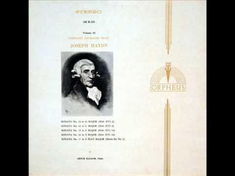 Haydn / Artur Balsam: Sonata No. 13 in G, Hob. XVI/6 - Allegro - 1967
